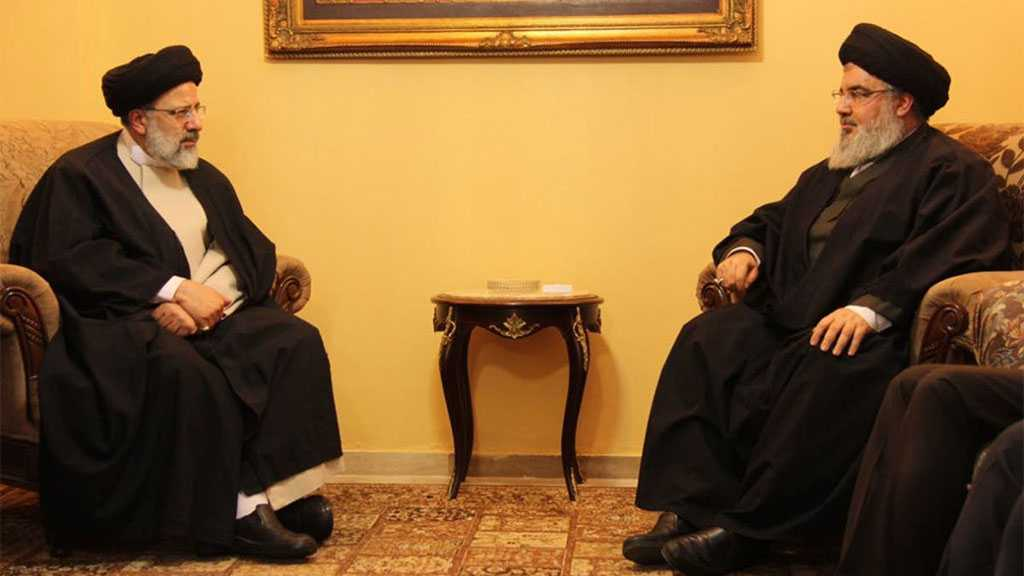 Sayyed Nasrallah Congratulates President Raisi: You Are the Hope of the Honorable, Oppressed and Resistant