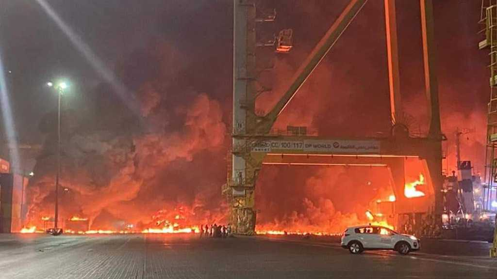 Explosion in Dubai's Jebel Ali Seaport Caused by Ship Fire