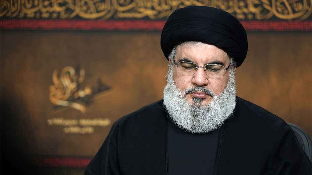 Sayyed Nasrallah Offers Condolences For PFLP, Family on Palestinian Leader Ahmad Jibril's Demise