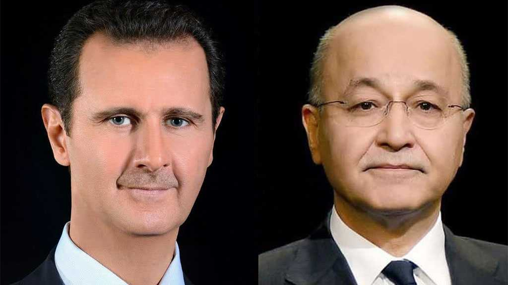 Syrian, Iraqi Presidents Discuss Bilateral Relations, Fight Against Terrorism