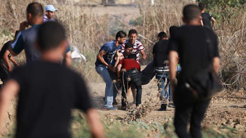 """Dozens of Palestinians Injured in Clashes with """"Israeli"""" Forces"""