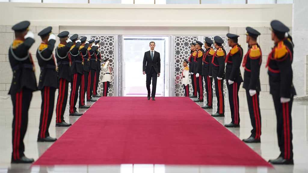 Assad Takes Constitutional Oath as President of Syria for New Term