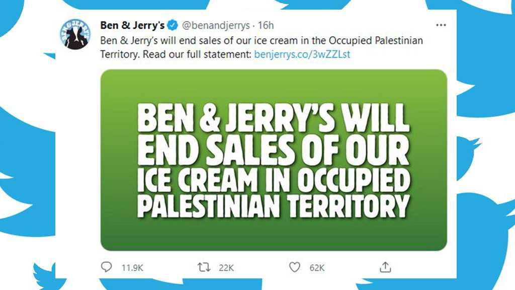 Ben & Jerry's to End Sales in Occupied Palestinian Territory after Backlash