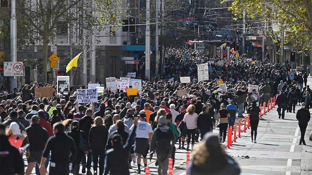 Sydney Police Arrest Anti-lockdown Protesters in Sydney