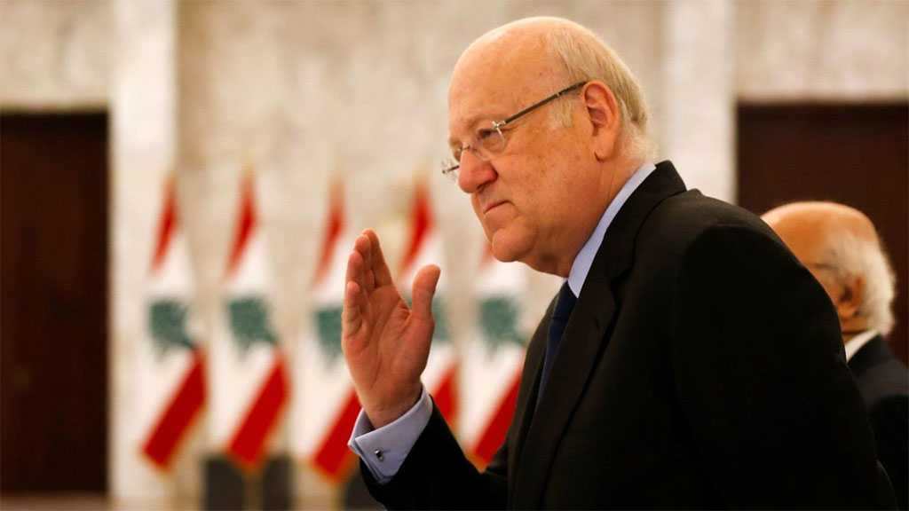 Lebanese PM-designate Mikati Starts Bid to Form Country's Long-delayed Cabinet