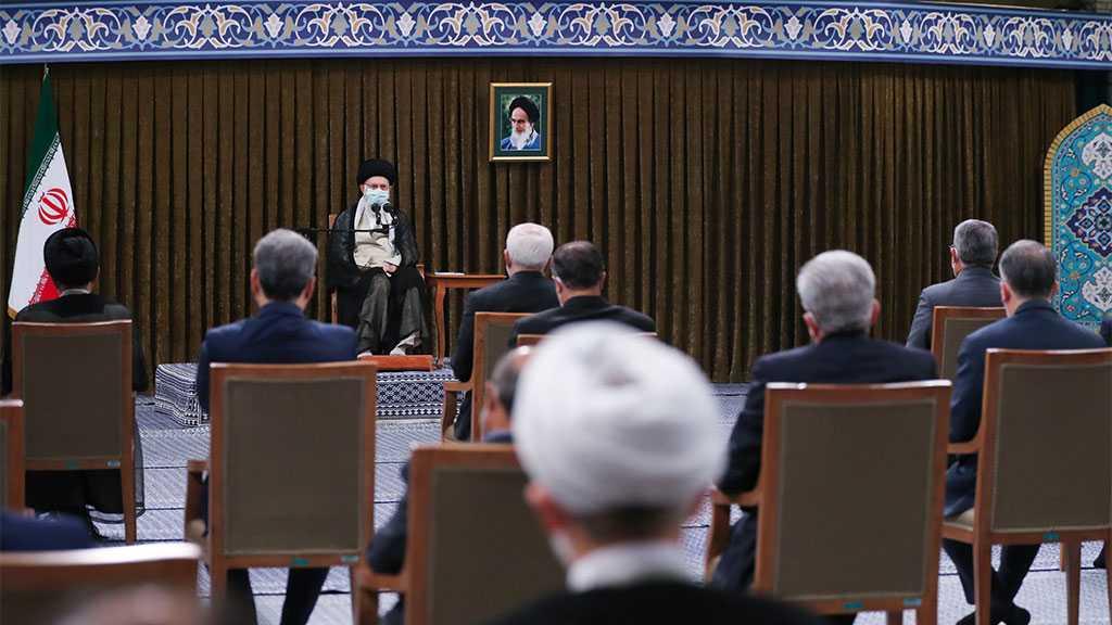 Imam Khamenei Receives Incumbent Government, Stresses 'West Untrustworthy'