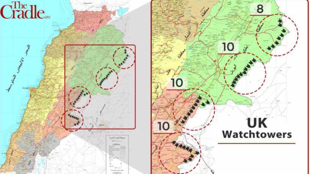 38 British Watchtowers Span Lebanon's Borders: Who are They Really Watching?