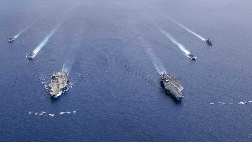 US Navy Holds Biggest War Drills in Decades