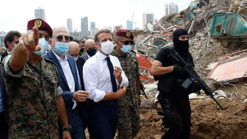 France's Macron Seeks $350m in Donor Aid for Blast-Scarred Lebanon
