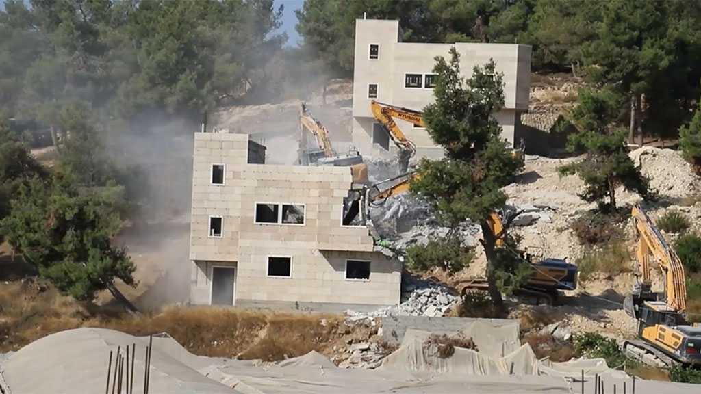 'Israeli' Occupation Demolishes Palestinian Houses in Al-Khalil