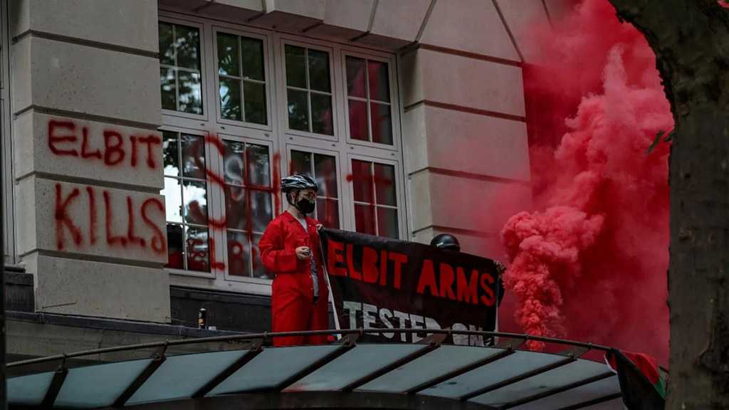 """Pro-Palestine Activists Occupy """"Israeli"""" Drone Maker's London Offices"""