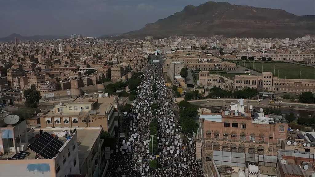 Yemenis Hold Massive Rally in Protest at US-backed Saudi Blockade, Persisting Economic Hardships