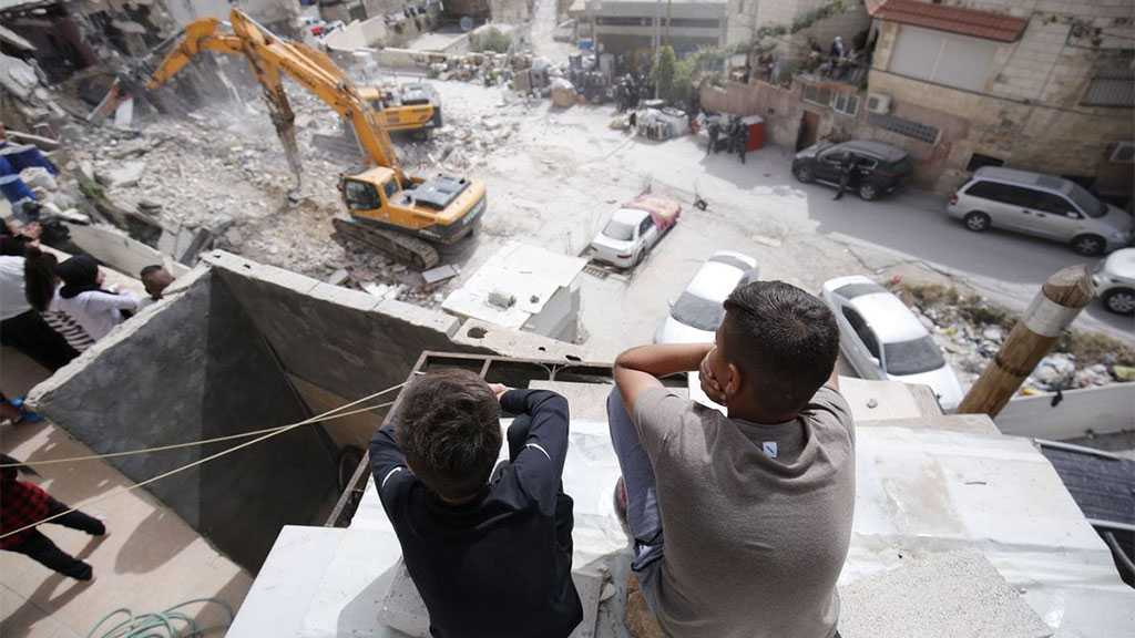 'Israel' Demolished Over 81 Palestinian Homes in Occupied Al-Quds In 2021
