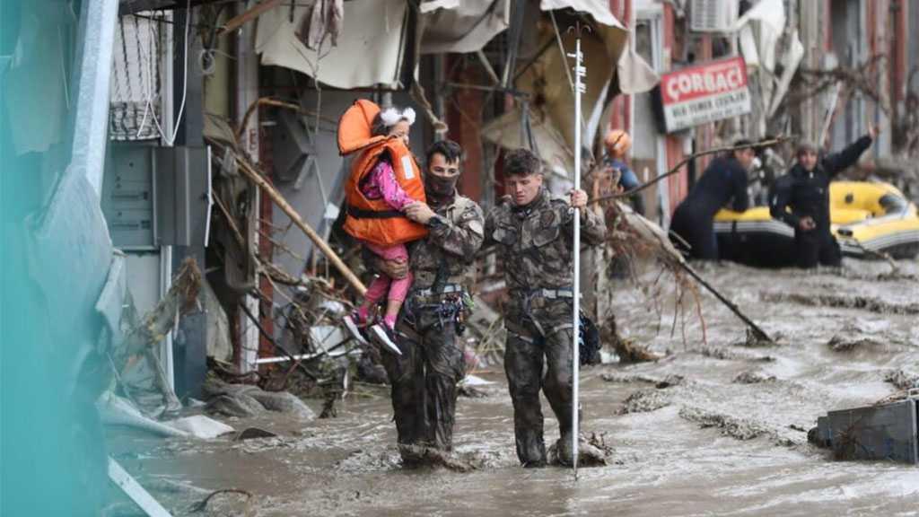 Turkey Combats Black Sea Floods, At Least 27 Killed