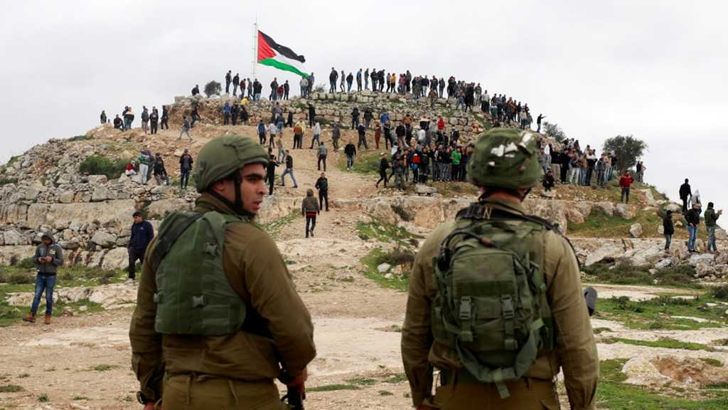 Anti-Settlement Palestinian Protesters Attacked by IOF in West Bank