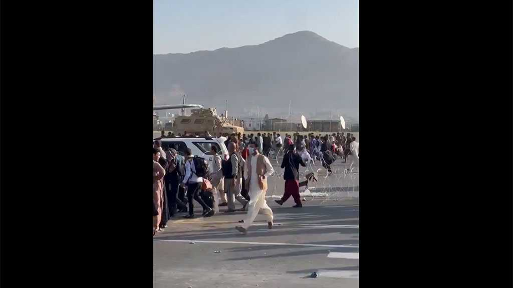 Chaos, Panic as Afghans, Foreigners Attempt To Flee Via Kabul Airport