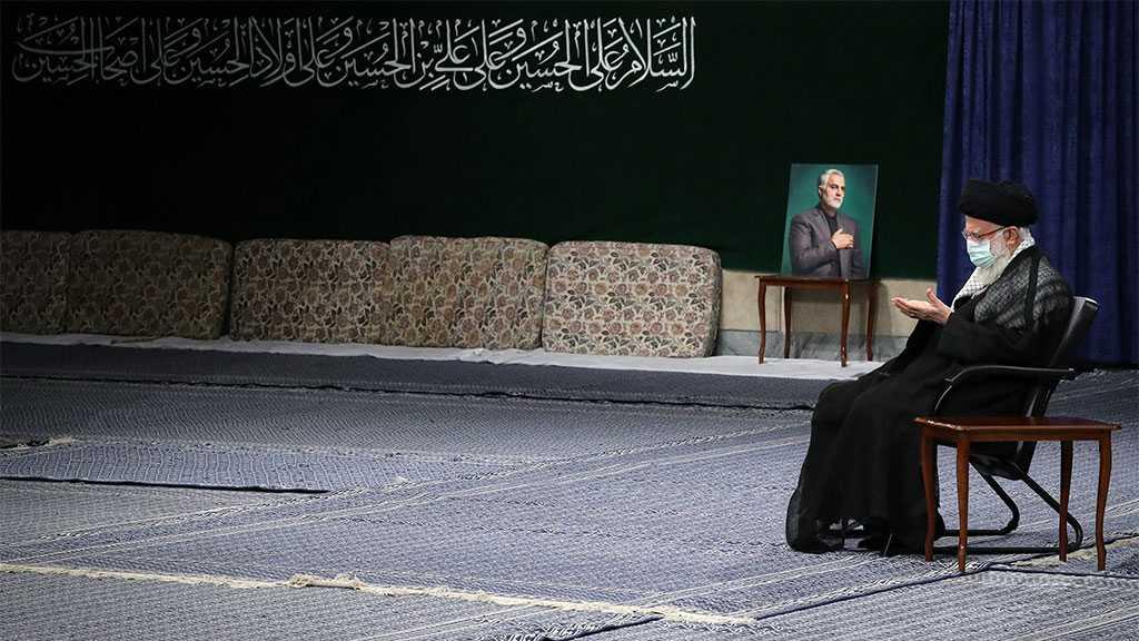 Imam Khamenei Attends Solo Mourning Ritual on Eve of Tasua