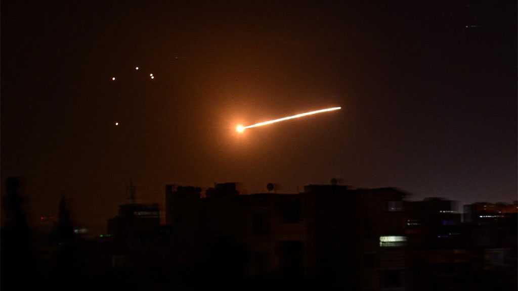 Syrian Air Defenses Confront Hostile 'Israeli' Targets over Damascus, Homs