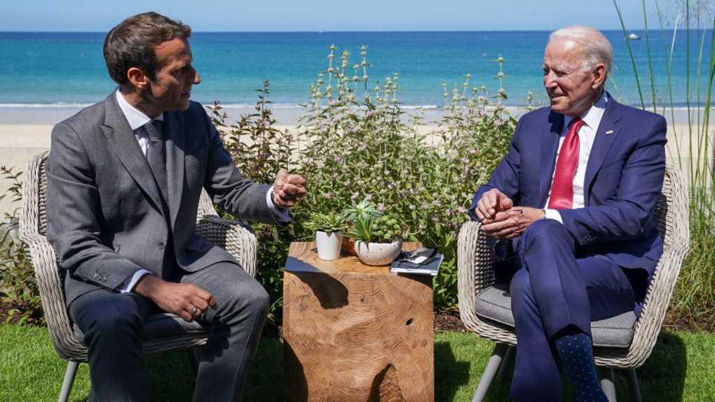 Biden, Macron Discuss Afghanistan