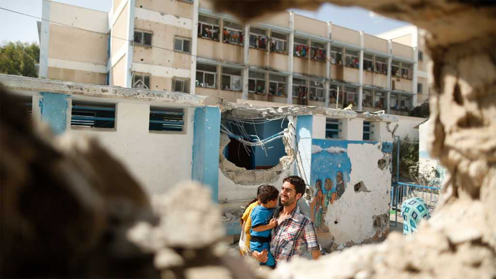"""Schools in Gaza Narrate Children Miseries: 4,000 Students Displaced after """"Israel's"""" Aggression"""