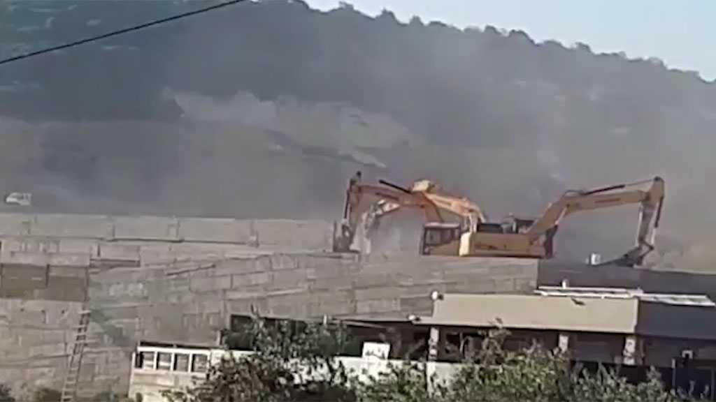 'Israeli' Occupation Forces Demolish Two Palestinian Homes in Umm al-Fahm