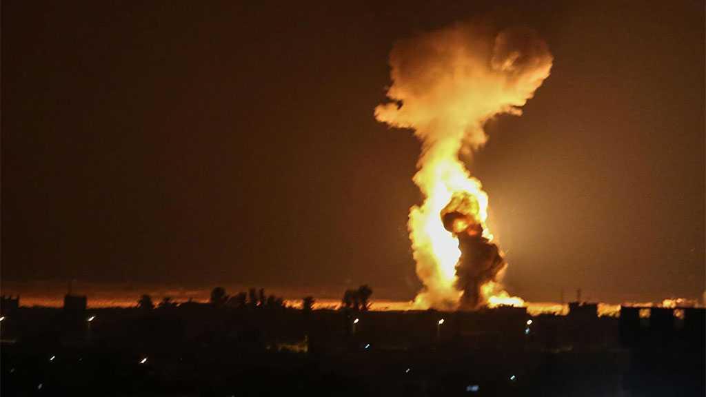 'Israeli' Occupation Attacks Gaza, Hamas Retaliates