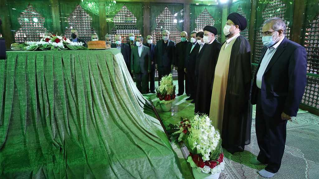 Iranian President, New Cabinet Renew Allegiance to Imam Khomeini's Ideals