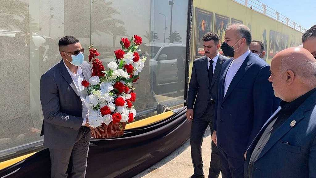 Amir-Abdollahian From Baghdad Airport: US Cannot Evade Responsibility for Martyr Soleimani's Assassination