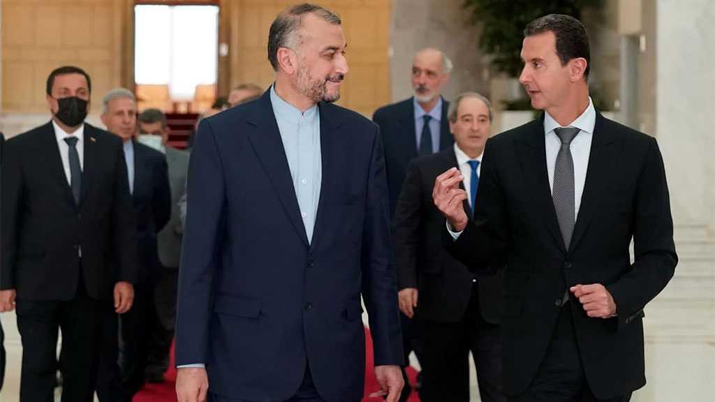 Amir Abdollahian, Assad Discuss Iran-Syria Cooperation