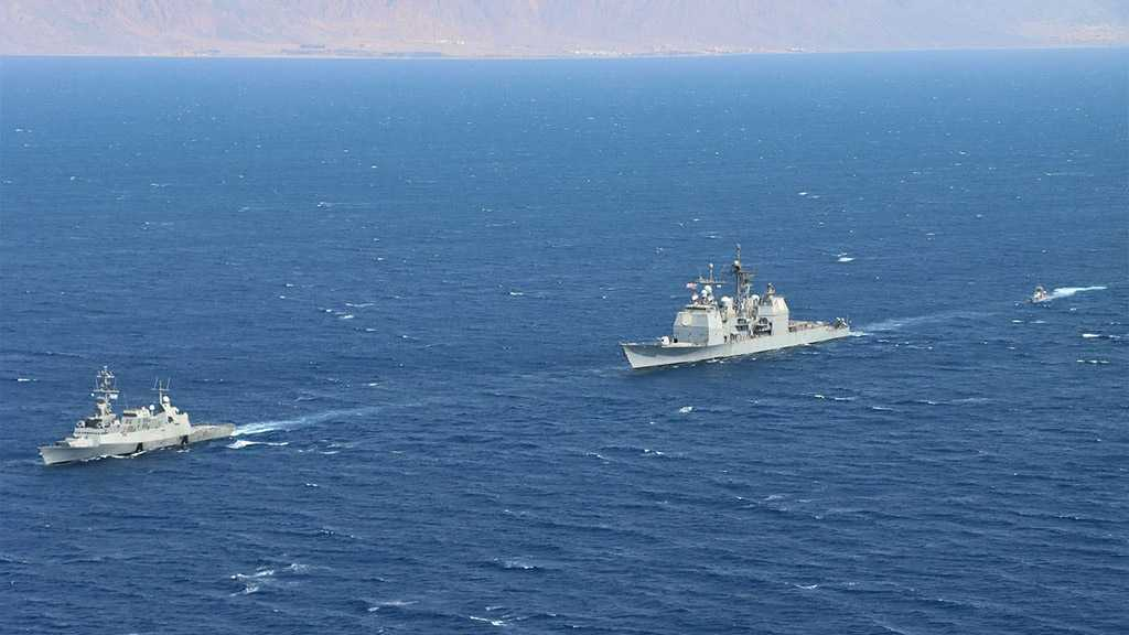 """""""Israeli"""" Navy Holds Joint Security Patrol with US 5th Fleet"""