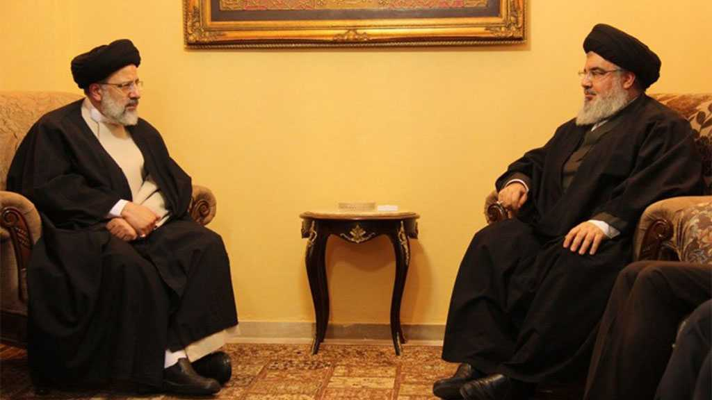 Raisi to 'Dear Brother' Sayyed Nasrallah: Islamic Resistance An Influential Element in Regional Equations