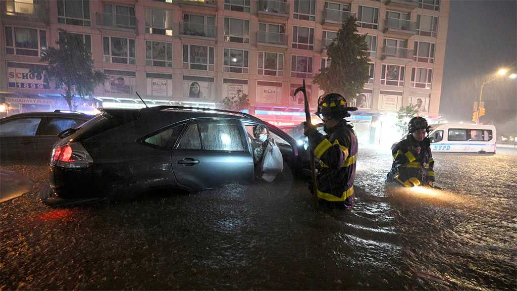 New York Declares State Of Emergency as Storm Ida Triggers Flooding