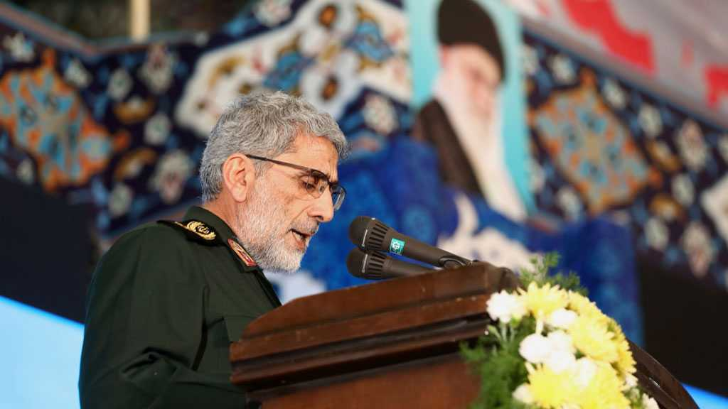 Quds Force Commander: Iran Trying To Exclude Militarism as Solution for Afghanistan