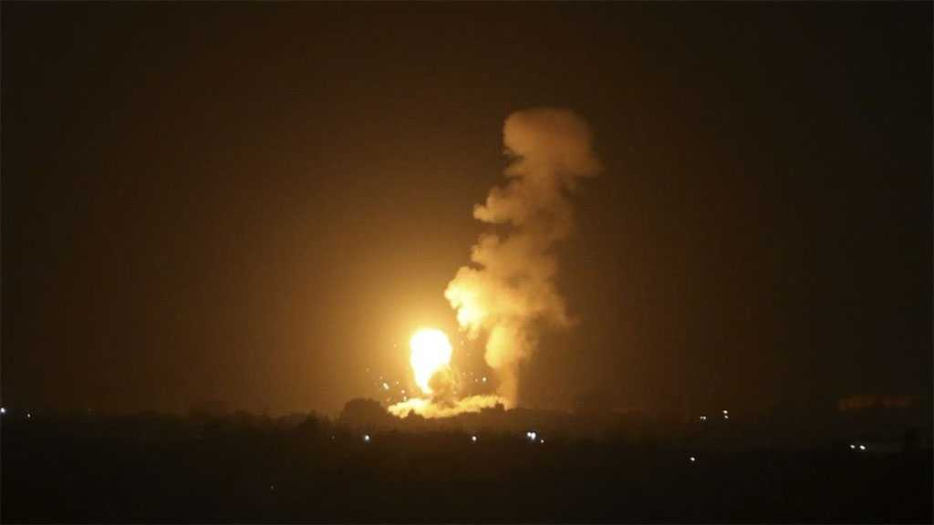 'Israeli' Military Conducts Overnight Airstrikes Following Launching Of Incendiary Balloons
