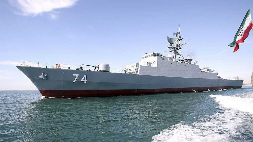 Iranian Naval Flotilla Accomplishes Mission without Any Help