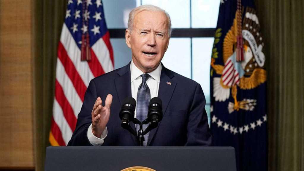 "Biden Says China Has ""Real Problem"" with Taliban"
