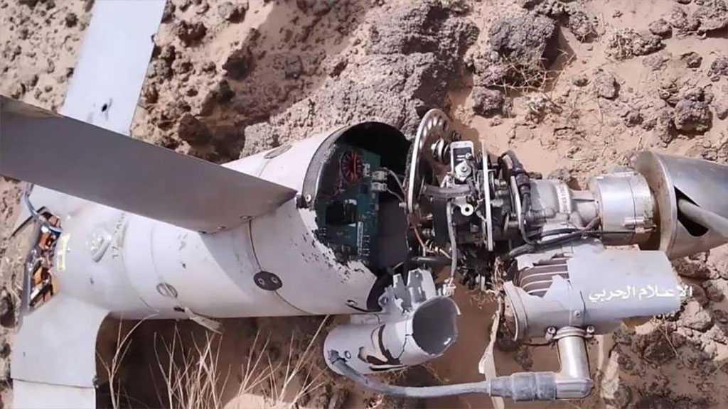 Yemeni Resistance Downs Saudi Spy Drone Over Saada