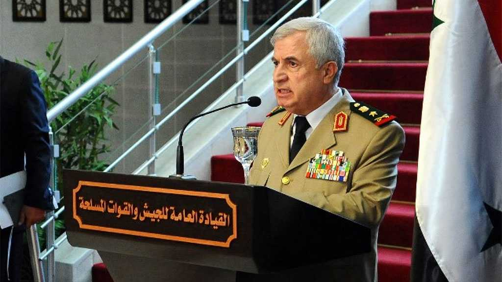 Syria's Defense Minister Meets Jordanian Army Commander in Amman