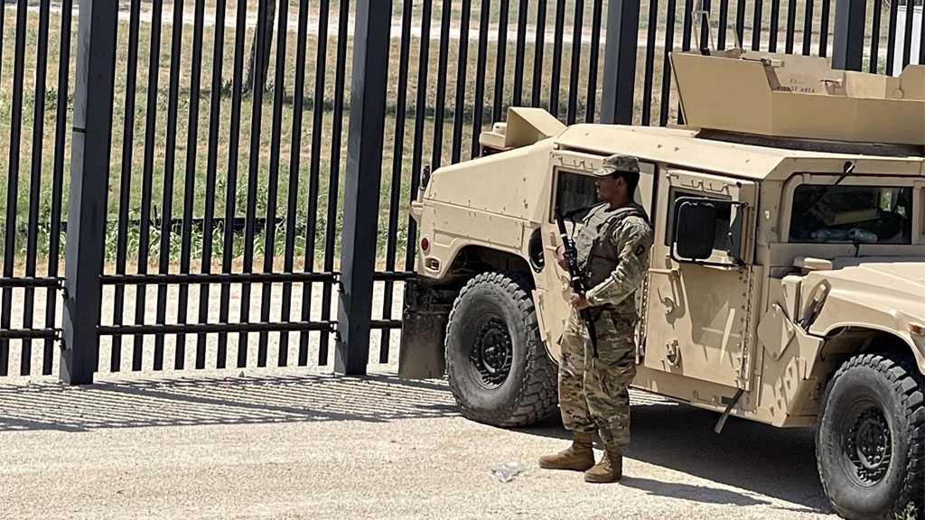 Armored Vehicles, National Guard Appear on Texas Border