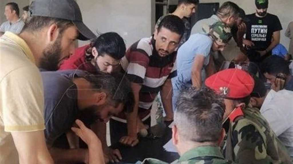 Militants Give Up Weapons As Syrian Army Advances in Daraa Province
