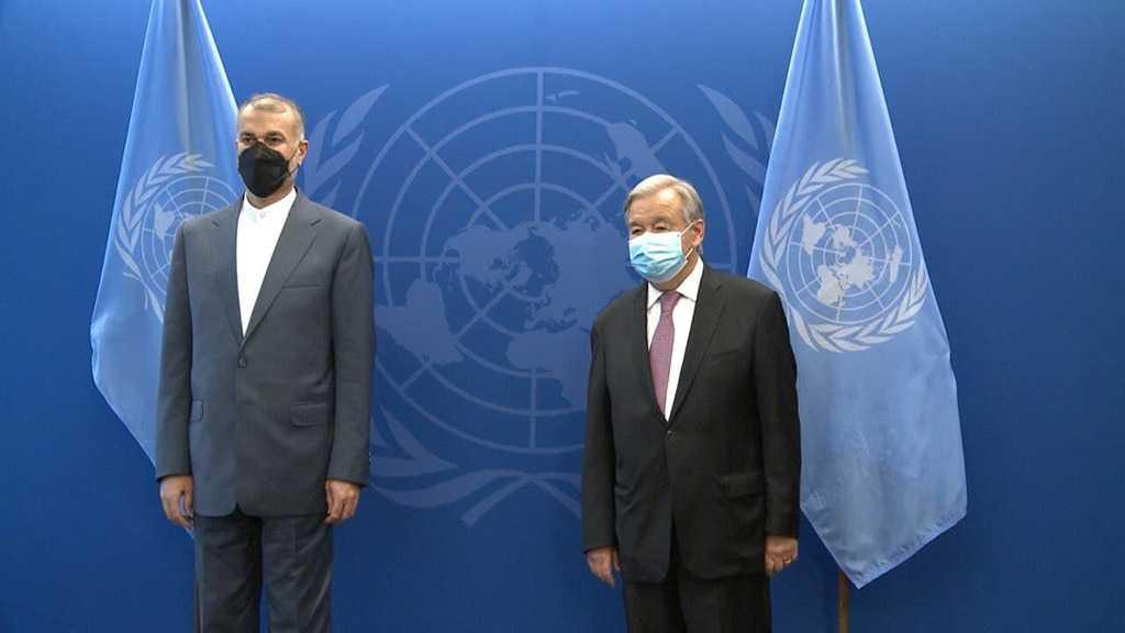 Guterres: Iran Close Partner of UN in Afghanistan