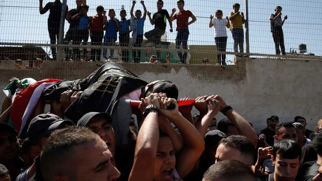 Palestine Bids Farewell to Five Heroes Martyred While Confronting 'Israeli' Occupation Forces