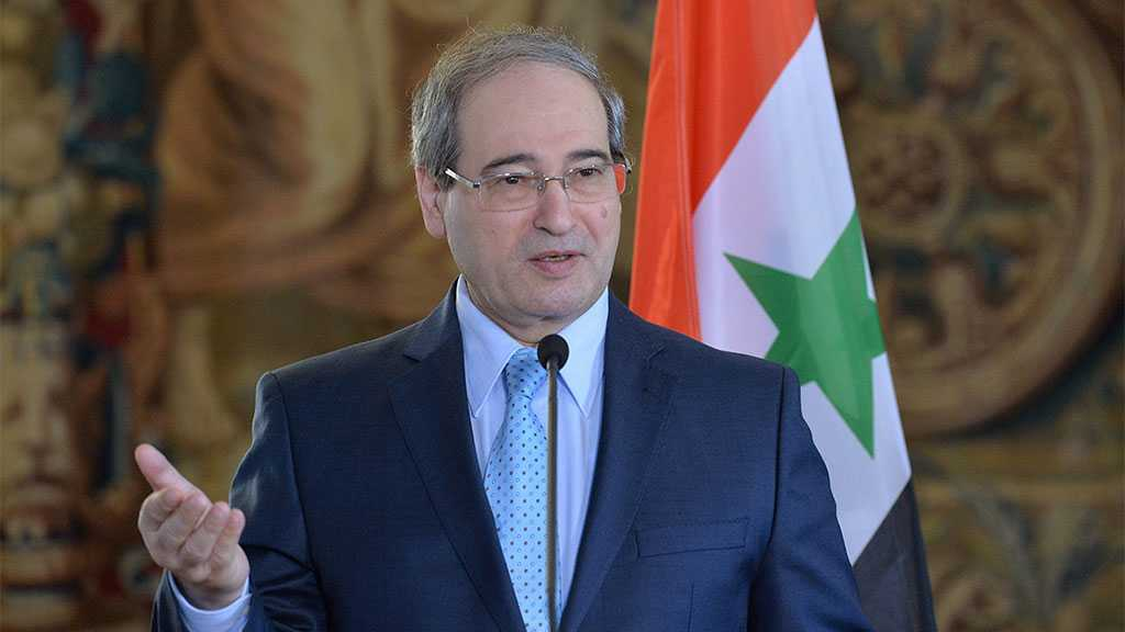 Syria neither Fears 'Israel' nor Those behind It - FM Mikdad