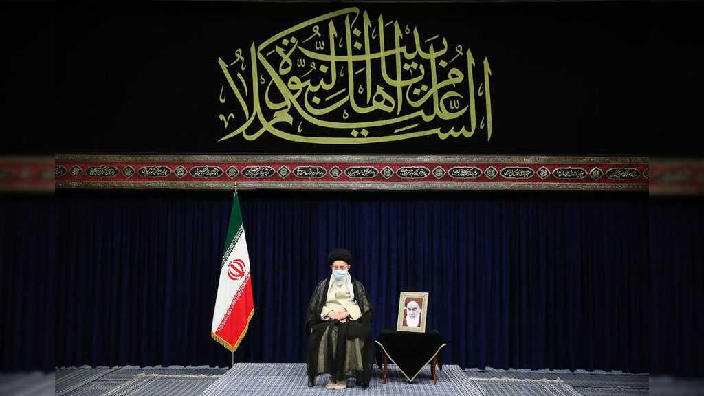 Imam Khamenei Attends Arabaeen Ceremony: Clarifying Truths Thwarts Enemies' Propaganda Attacks