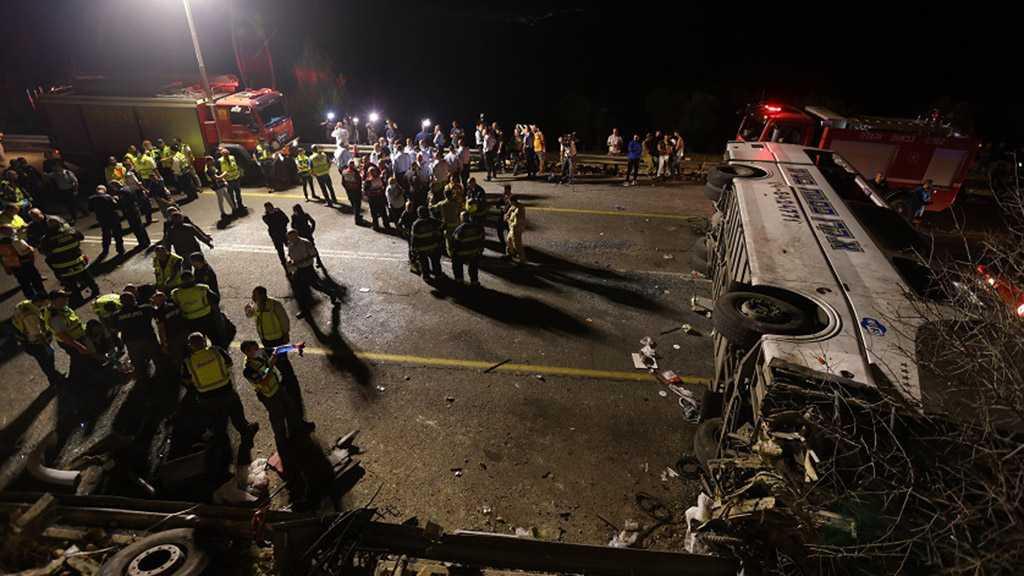 Bus Crash in Galilee Leaves at Least Five Dead