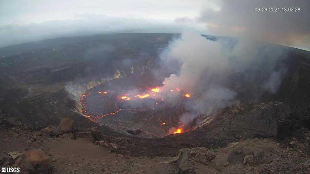 Hawaii's Kilauea Volcano Erupts, Putting Big Island on Alert