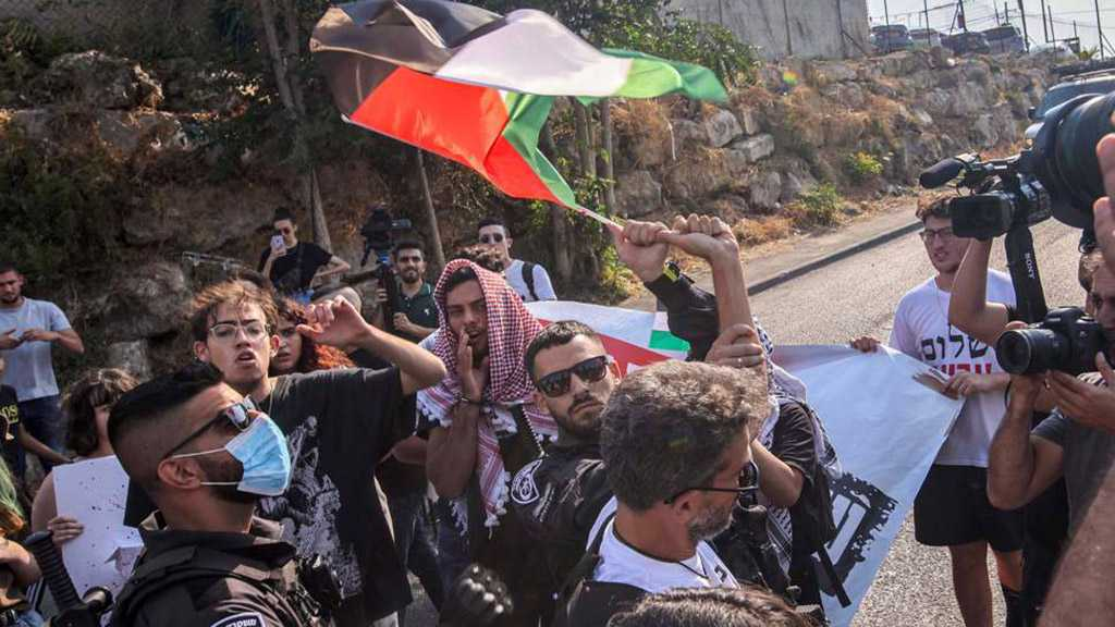 """""""Israeli"""" Forces Attack Anti-Settlement Protesters in WB"""