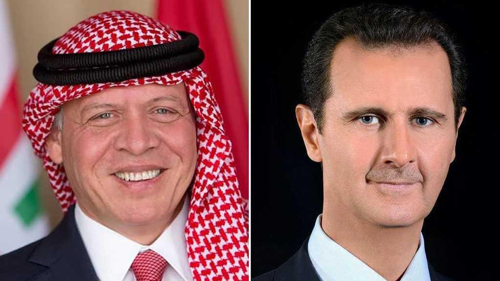 Assad, King Abdullah II Hold First Phone Talk Since 2011