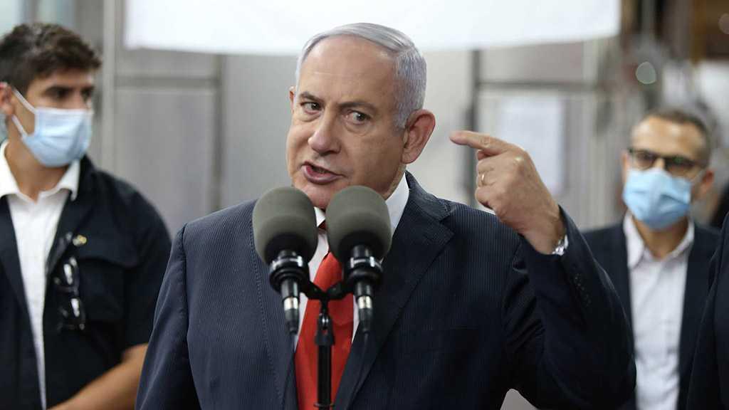 'Israeli' Opposition Leader Benjamin Netanyahu Slams New Gov't