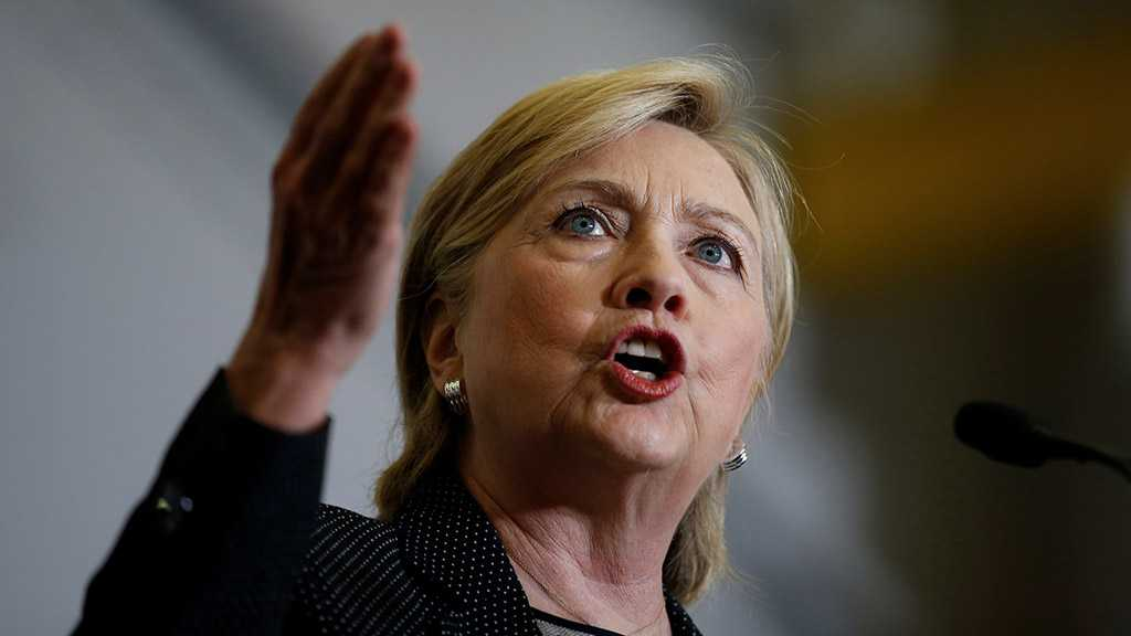 Hillary Clinton Says Republicans Are Threat to US Democracy